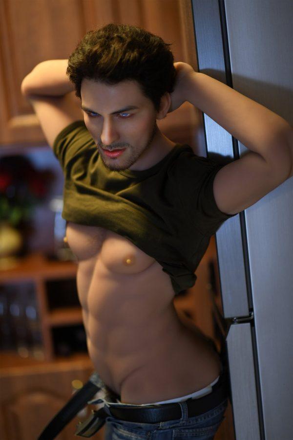 Full Size Muscular Male Sex Doll - Brad