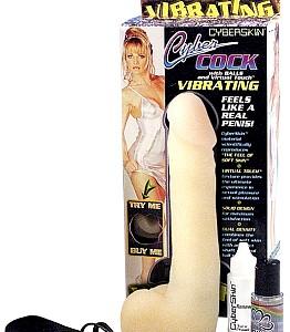 Cyberskin Vibrating Cyber Cock