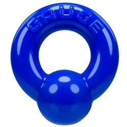 Oxballs Gauge Super Flex Cockring Police Blue